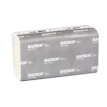 Листовые бумажные полотенца Katrin Plus Non Stop M2 wide, Handy Pack