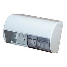 Диспенсер для туалетной бумаги на два рулона Mar Plast